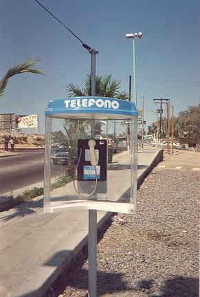 "Phone is quite rugged, just as strong as the phones here in the States, and the plastic canopy, while seemingly cheap in appearance, is actually quite sturdy.  It accepts 500 and 1000 peso coins.</BR>Sent in by: Dr. Freeze</BR><span class=""date-display-single"" property=""dc:date"" datatype=""xsd:dateTime"" content=""1993-02-07T00:00:00+00:00"">Feb 07, 1993</span>"