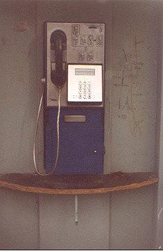 "The payphone for coins.  I should insert 2 Sk (Slovak Crowns, USD=33 Sk), 5 Sk, 10 Sk.</BR></BR><span class=""date-display-single"" property=""dc:date"" datatype=""xsd:dateTime"" content=""1998-03-25T00:00:00+00:00"">Mar 25, 1998</span>"